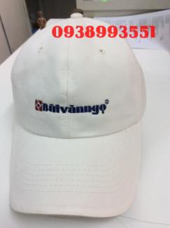 Thêu mũ nón quảng cáo giá rẻ chất lượng, mũ lưỡi trai, nón lưỡi trai