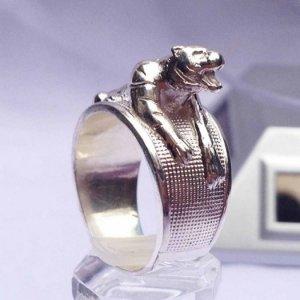 Nhẫn nam bạc nguyên chất-nhẫn hổ-0988 27 6566