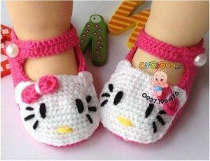 Giày Len Cotton Kitty (Hàng Nhập)