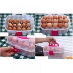 Hộp đựng trứng gà 2 tầng