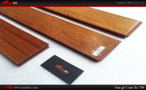 Sàn gỗ tự nhiên Căm Xe 750mm
