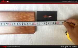 Sàn gỗ tự nhiên Căm Xe 900mm