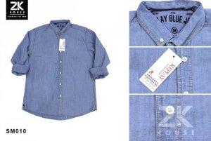 Sơ mi Denim Repaly Blue Jean