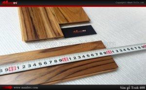 Sàn gỗ Teak 600