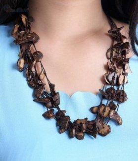 Vòng đeo cổ gỗ dừa ZID15806
