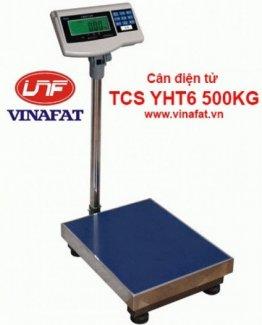 Tải trọng Max/min : 500kg/50g Sai số : 50g Kích thước sàn DxR : 58x48 cm Nguồn điện sử dụng : Điện 220v, ắc qui khô Chức năng : Trừ bì, về 0, báo hết pin