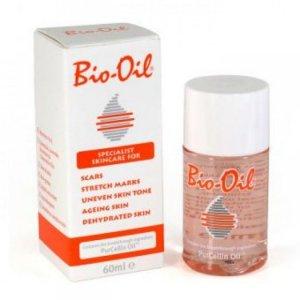 Tinh dầu Bio Oil đặc biệt hiệu quả trong việc phòng chống rạn nứt da từ việc sử dụng Purcellin Oil, với thành phần đươc chiết xuất từ các loại thảo dược, Bio-Oil được các bác sĩ trên thế giới tin tưởng tuyệt đối để giới thiệu đến phụ nữ có thai - Sản phẩm có thể dùng được cho mặt hoặc toàn thân, đặc biệt hiệu quả cho việc làm mờ các vết rạn da, sẹo, làm mịn các vết sần sùi trên da, da bị lão hóa và da bị khô, ngứa và mốc.    Tác dụng với sẹo: Có thể làm mờ được cả sẹo mới và sẹo cũ. Tác dụng với vết rạn da: Có thể làm giảm thiểu các vết rạn da trong thai kỳ hay tăng cân quá nhanh. Có tác dụng làm mờ cả với những vết rạn da cũ. Tác dụng với da sần sùi: Có thể cải thiện được các vết trên da phát sinh do rối loạn nội tiết hay do bị ảnh hưởng của ánh nắng mặt trời.