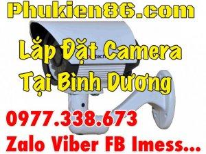 Dịch vụ lắp camera bình dương giá rẻ bảo hành dài hạn