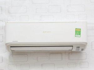 Máy lạnh Mitsubishi Heavy 10YN:  Công suất làm lạnh (BTU): 9000 BTU,  Công suất tiêu thụ: 770 Wh (~0.52kW/h),  Phạm vi làm lạnh hiệu quả: Từ dưới 15 m2 ( từ 30 đến 45 m3),  Công nghệ Inverter: Máy lạnh Inverter,  Loại Gas sử dụng: R-410A,  Kích thước cục lạnh (Dài x Cao x Dày): 76.9 x 26.2 x 21 cm,  Kích thước cục nóng (Dài x Cao x Dày): 64.5 x 54 x 27.5 cm,  Nơi sản xuất: Thái Lan.