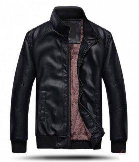 Áo khoác da nam lót lông Cozy ZID22597