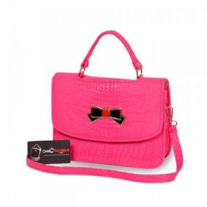 Túi xách nữ màu hồng