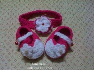 Giày len - băng đô