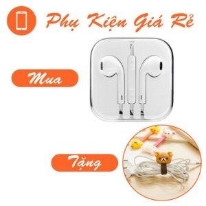 Tai nghe earpod iphone 5 tặng dây quấn đáng yêu