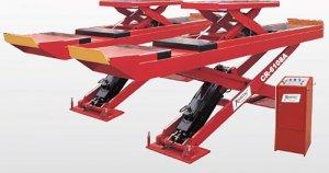 Cầu cắt kéo kiểm tra góc lái bánh xe 3D