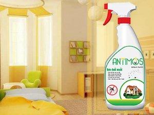 Sơn xịt tường Antimos có tác dụng chống muỗi và côn trùng