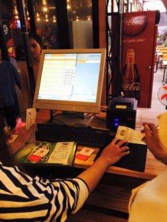 Bán Máy tính tiền Quán Ăn tại Hà Nội