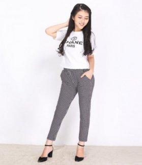 Set áo thun và quần caro Style ZID26871