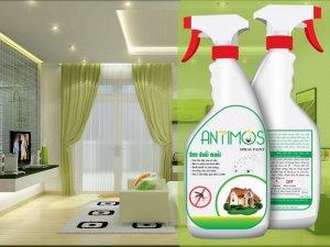 Sơn tường phòng khách có tác dụng đuổi muỗi hiệu quả