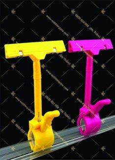 Kẹp nhựa, kep nhua, pop nhựa, kẹp quảng cáo, kẹp lò xo, kep lo xo, kẹp nhựa, Mkep nhua, chân đế nhựa