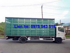 Tổng đại lý xe tải Hino chở gia súc chất lượng cao