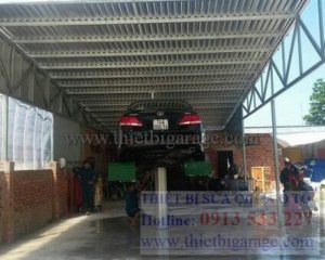 Cầu nâng 1 trụ rửa xe ô tô nhập khẩu Ấn Độ