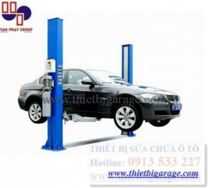 Cầu nâng sửa chữa ô tô 2 trụ giá cạnh tranh nhất thị trường