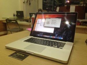 Macbook pro 15 Core i7 MD322 | Ổ cứng: HDD 500G truy xuất cực nhanh tha hồ