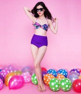Bikini họa tiết Sunny cao cấp ZID24602