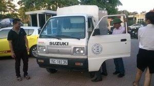 Xe tải ô tô tải 5 tạ suzuki hải phòng Ms Toàn