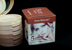 Kem che khuyết điểm tạo khối Kiss Beauty 5 Color Contour