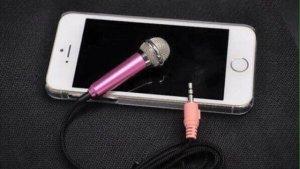 Mic hát karaoke trên điện thoại, tablet