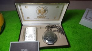 Zippo Limited Edition Silver. Năm 2001