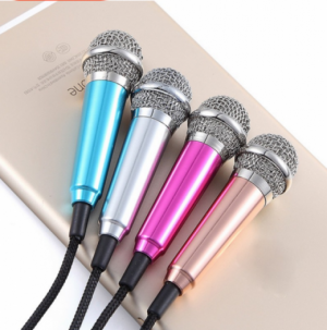 Micro mini hát karaoke điện thoại , máy tính bảng laptop