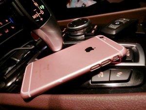 Ốp giả RoseGold Iphone