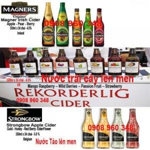 Nước uống trái cây lên men Magners Irish Cider Strongbow Cider nhập khẩu
