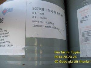 Bán NaCN, Ban-Natri-xyanua, Ban-Sodium-Cyanide nhập khẩu chính ngạch Mỹ, Trung Quốc
