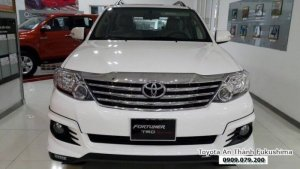 Toyota Fortuner TRD giao xe ngay, giảm lớn