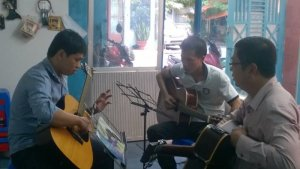 Lớp học guitar đệm hát nâng cao ở Tp. Hồ Chí Minh