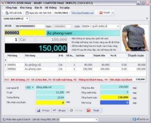Cung cấp Phần mềm quản lý Shop, cửa hàng bách hoá tại Ba Đình, Cầu Giấy, Hai Bà Trưng, Hà Nội