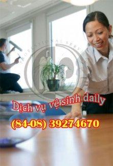 Dịch vụ tổng vệ sinh tòa nhà, biệt thự, khách sạn