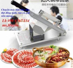 Đại Lý Cung Cấp Dao Thái Thịt Máy Thái Thịt Cho Nhà Hàng Quán Ăn Giá Rẻ