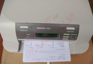 Máy in sổ  Nantian PR9| máy in cũ giá rẻ- 3.500.000