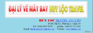 Vé Máy Bay Giá Rẻ Huy Lộc Travel