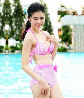 Bộ đồ bơi bikini Pink Neon ZID10061