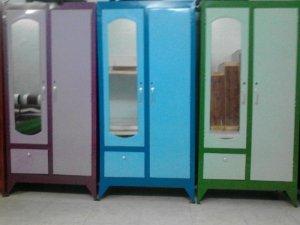 Tủ sắt quần áo cao 1m8 giá rẻ