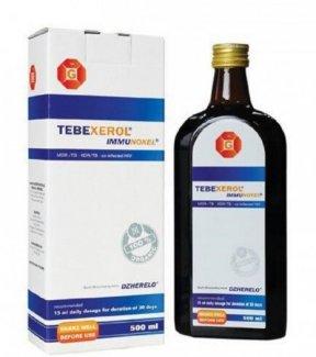 TPCN Tebexerol - tăng cường miễn dịch từ Đức.Giá bán 2.650.000đ/ chai