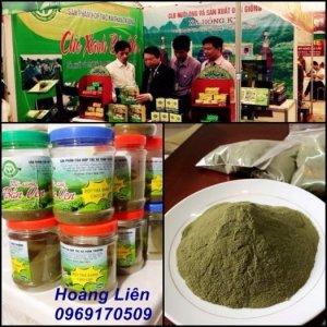 Tinh bột nghệ nguyên chất - Bột trà xanh nguyên chất