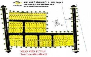 Đất nền khu công nghiệp Linh Trung,560 tr/nền