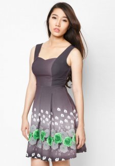Váy đầm hoa đẹp