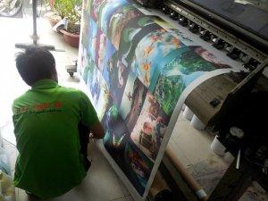In tranh canvas trang trí nội thất nhà, in tranh treo tường giá rẻ